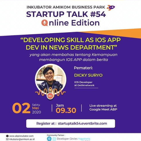 Event Talk: Developing Skill As iOS Dev In News Department