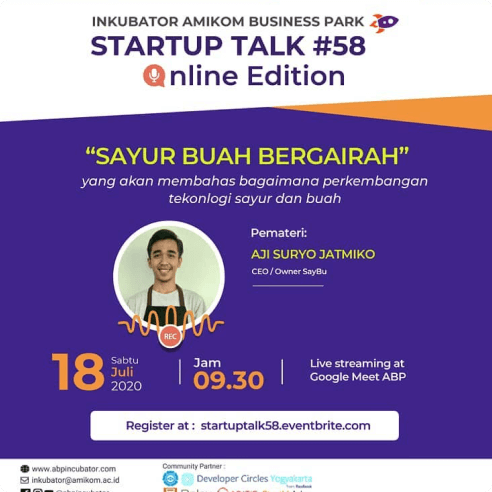 Event Talk: Sayur Buah Begairah