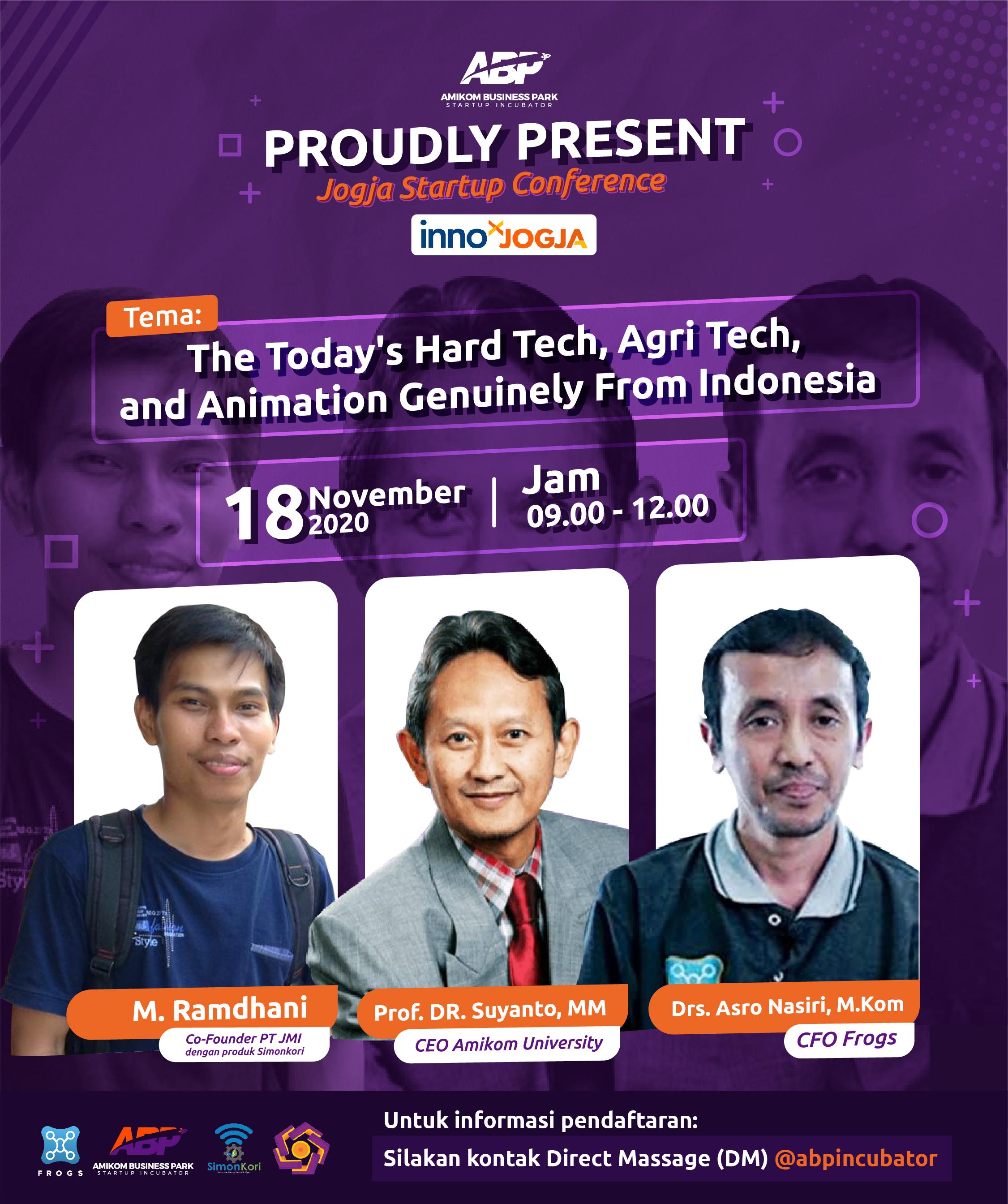 Event Jogja Startup Conference