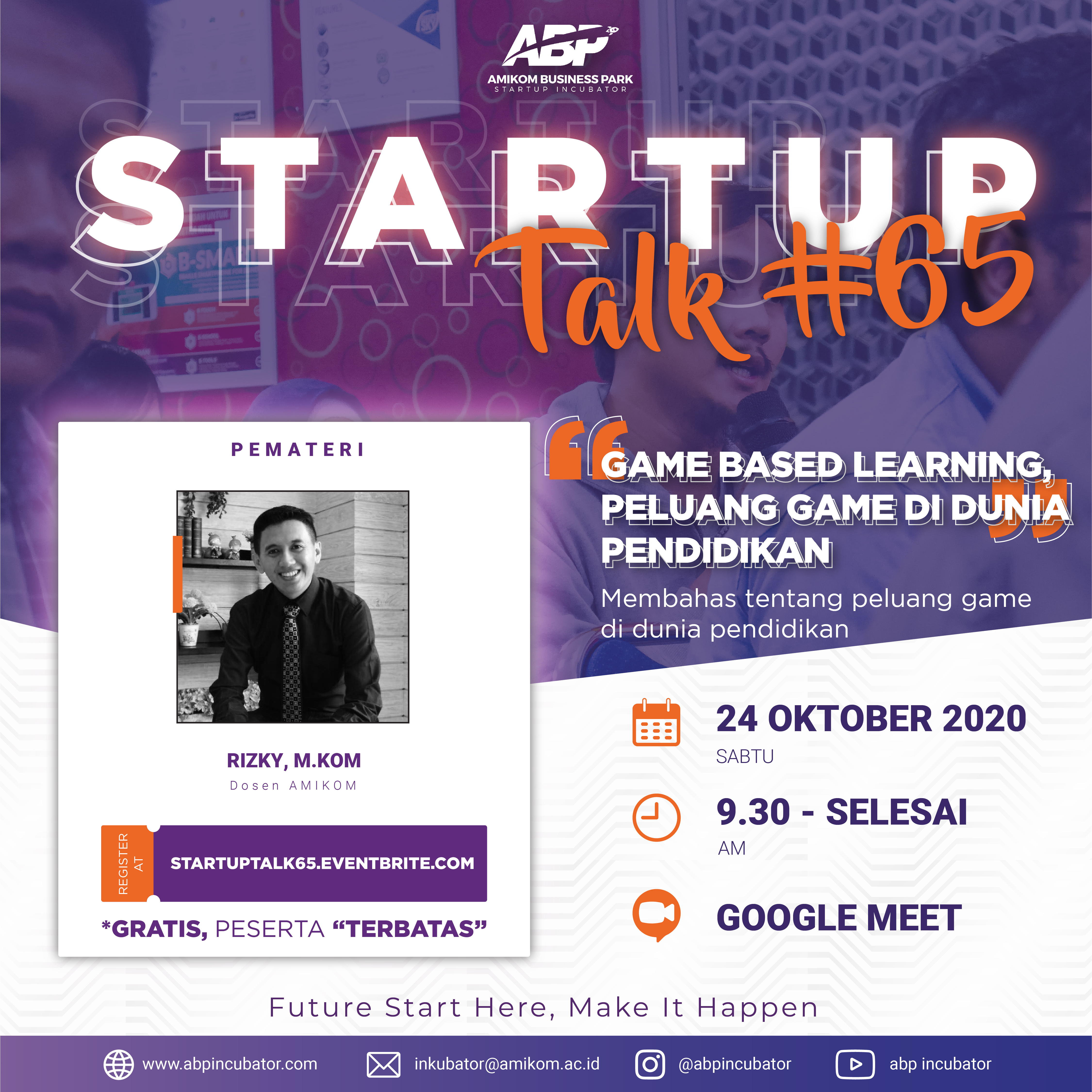 Event Startup Talk #65: